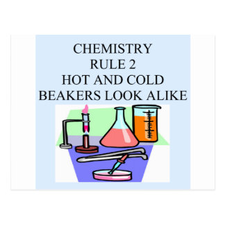 regla 2 de la química postales