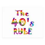 regla 40s postal
