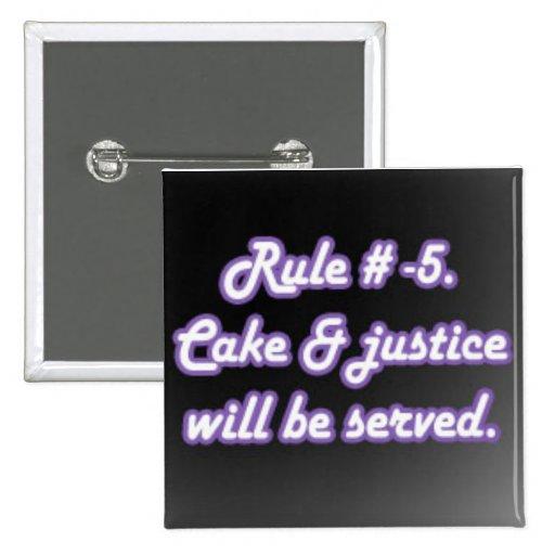 Regla # -5 pins