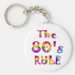 regla 80s llaveros personalizados