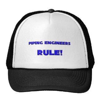 ¡Regla aflautada de los ingenieros! Gorras