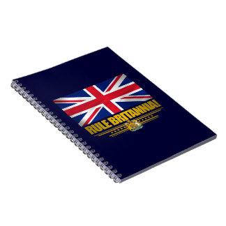 ¡Regla Britannia Libro De Apuntes