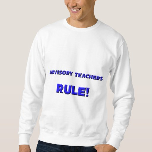 ¡Regla consultiva de los profesores! Pullover Sudadera