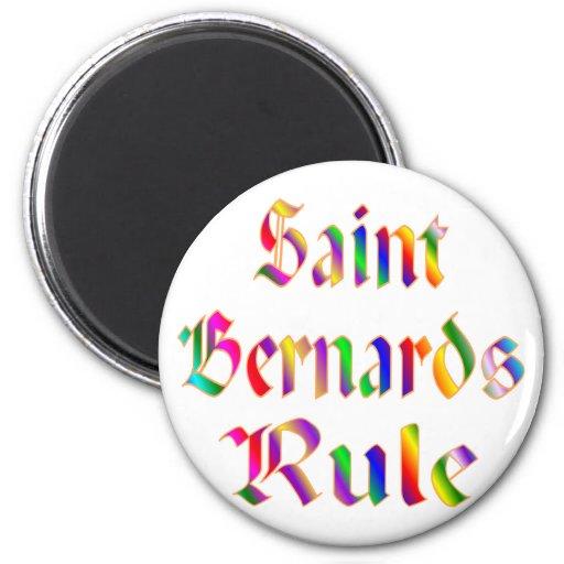 Regla de Bernards del santo Iman