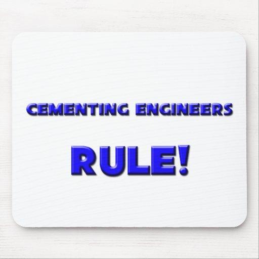 ¡Regla de cementación de los ingenieros! Tapete De Raton