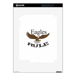 Regla de Eagles Calcomanías Para El iPad 2
