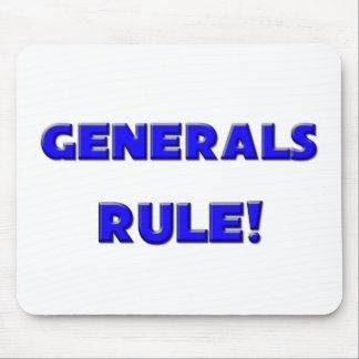 ¡Regla de generales! Alfombrilla De Ratones