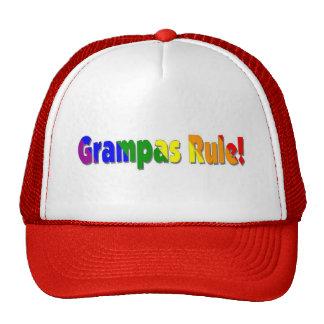 Regla de Grampas Gorras De Camionero