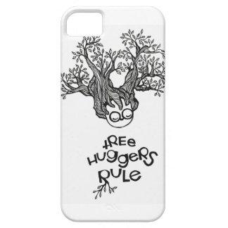 Regla de Huggers del árbol iPhone 5 Case-Mate Cobertura