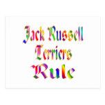 REGLA DE JACK RUSSELLS POSTAL