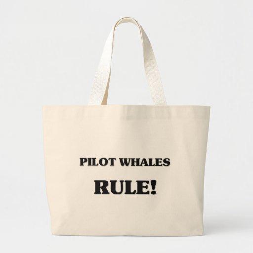 Regla de las ballenas experimentales bolsas de mano