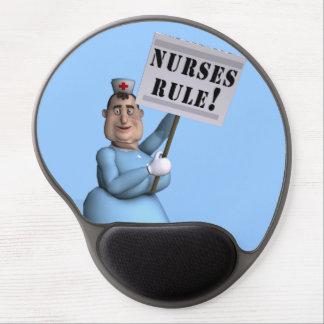 ¡Regla de las enfermeras! Alfombrillas De Raton Con Gel