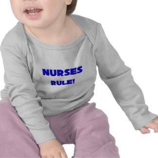 ¡Regla de las enfermeras! Camiseta