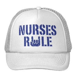 Regla de las enfermeras gorros