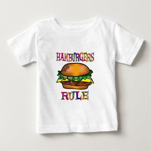 Regla de las hamburguesas playera