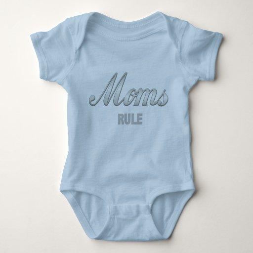 Regla de las mamáes body para bebé