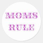 Regla de las mamáes etiquetas
