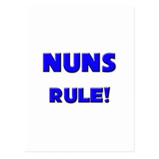 ¡Regla de las monjas! Tarjeta Postal