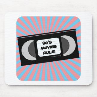 Regla de las películas de los años ochenta tapete de ratón