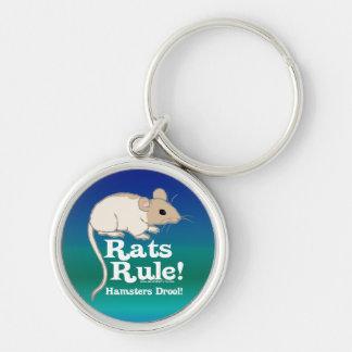 ¡Regla de las ratas! Llavero Personalizado