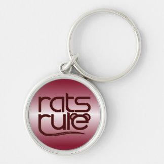 ¡Regla de las ratas Llaveros