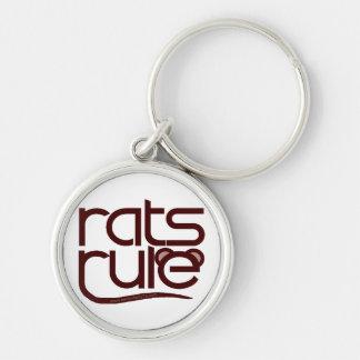 ¡Regla de las ratas Llaveros Personalizados