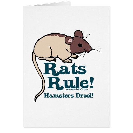 ¡Regla de las ratas! Tarjetón