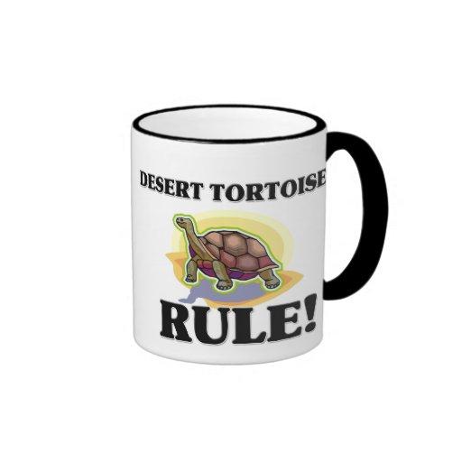 ¡Regla de las TORTUGAS de DESIERTO! Taza A Dos Colores