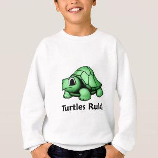 ¡Regla de las tortugas! Sudadera