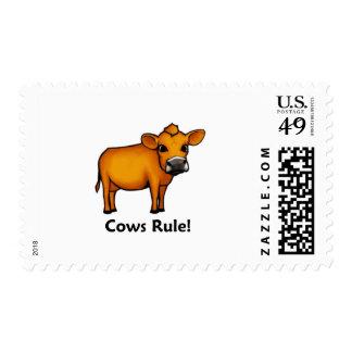 ¡Regla de las vacas! Franqueo