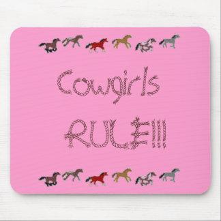 ¡REGLA de las vaqueras!!! Alfombrillas De Ratones