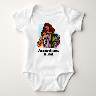 ¡Regla de los acordeones! Body Para Bebé