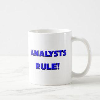 ¡Regla de los analistas! Taza