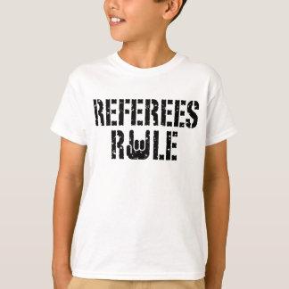 Regla de los árbitros playera