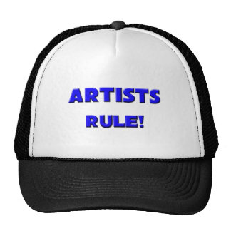 ¡Regla de los artistas! Gorro
