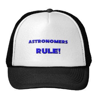 ¡Regla de los astrónomos! Gorras De Camionero