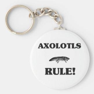 ¡Regla de los AXOLOTLS! Llavero Personalizado