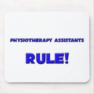¡Regla de los ayudantes de la fisioterapia! Alfombrillas De Ratones