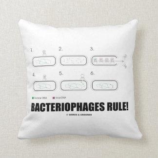 ¡Regla de los bacteriófagos! (DNA del virus de las Cojín
