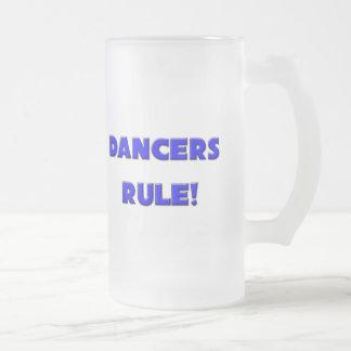 ¡Regla de los bailarines! Taza Cristal Mate