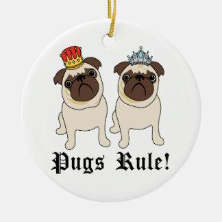 Regla de los barros amasados ornamento de reyes magos