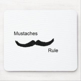 Regla de los bigotes alfombrillas de raton