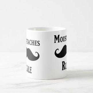 Regla de los bigotes taza clásica