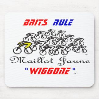 Regla de los británicos tapetes de ratón