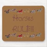 ¡REGLA de los caballos!!! Alfombrillas De Ratones