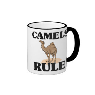 ¡Regla de los CAMELLOS! Taza A Dos Colores