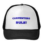 ¡Regla de los carpinteros! Gorro De Camionero