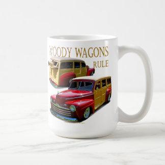 Regla de los carros de Woody Taza