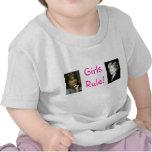 Regla de los chicas - camiseta del niño