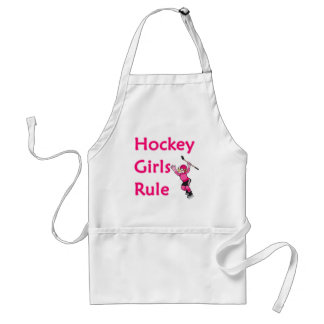 Regla de los chicas del hockey delantal